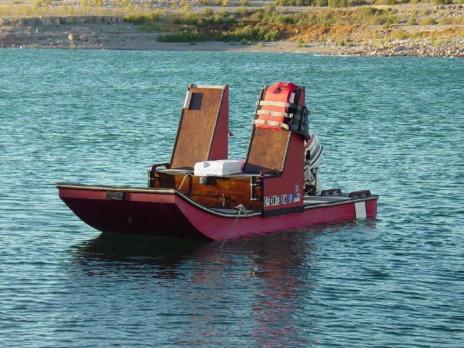 Fishing Boat: Detail Puddle duck boat plans